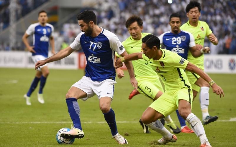 الصورة: الهلال يفرط في حسم نهائي دوري أبطال آسيا بالسعودية أمام أوراوا