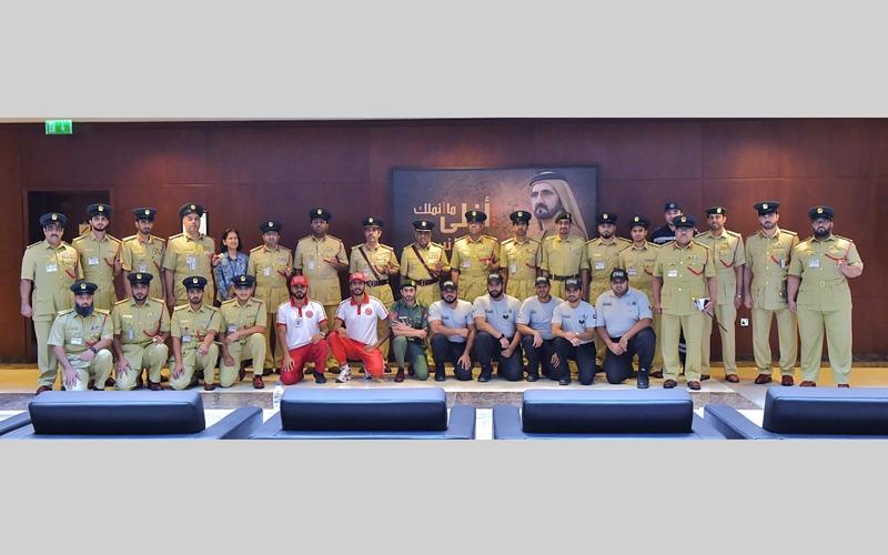 الصورة: شرطة دبي تطلق «فريق مسرح الجريمة تحت الماء»