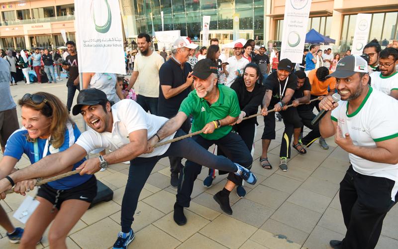 أجواء فرح استثنائية في ختـام «تحدي دبي للياقة» - الإمارات اليوم
