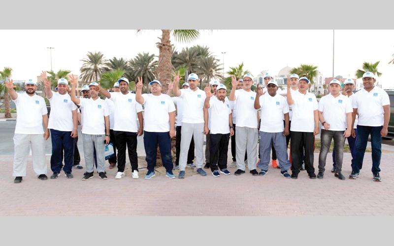 الصورة: أسرة «جائزة دبي للقرآن»: نتعهد بجعل الرياضة أسلوب حياة