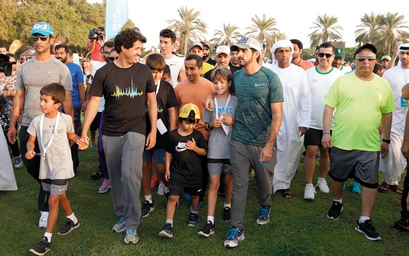 الصورة: 5 مشاهد من سجل إنجازات «تحدي دبي للياقة»