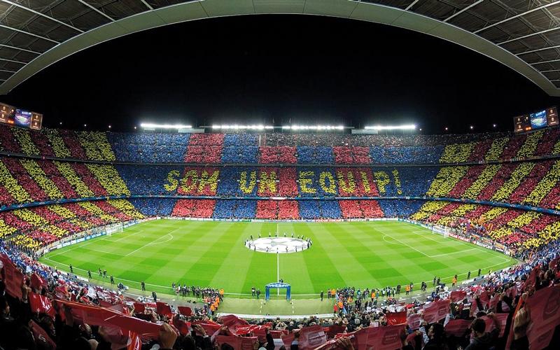 الصورة: «الليغا» تهدّد بإغلاق ملعب برشلونة