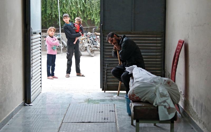 الصورة: الأمم المتحدة تطالب بتأمين ممر آمن شرق دمشق