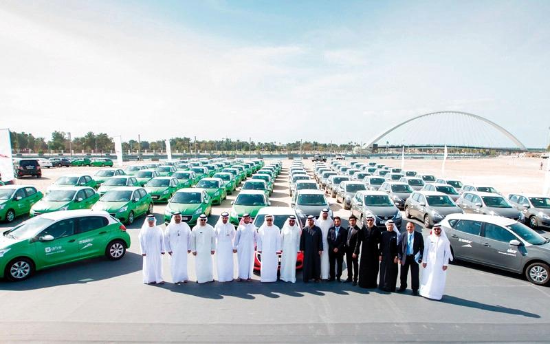 الصورة: «طرق دبي» ترفع عدد مركبات التأجير الذكي 50%