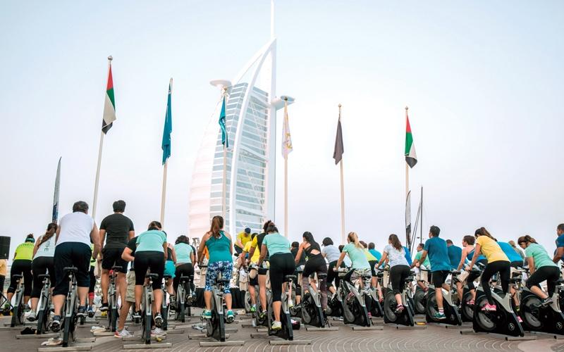 الصورة: نجاح «تحدي دبي للياقة» يفوق التوقعات