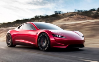 الصورة: أسرع سيارة في العالم كهربائية