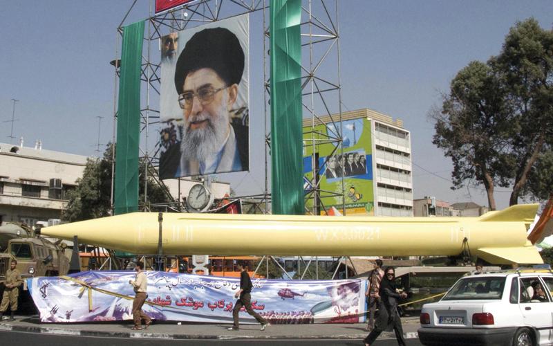 إيران تسعى لزعزعة أمن المنطقة. أرشيفية