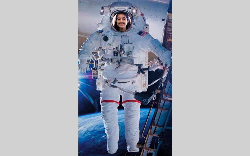 الصورة: علياء المنصوري: سأذهب إلى المريخ لأرفع علم الإمارات