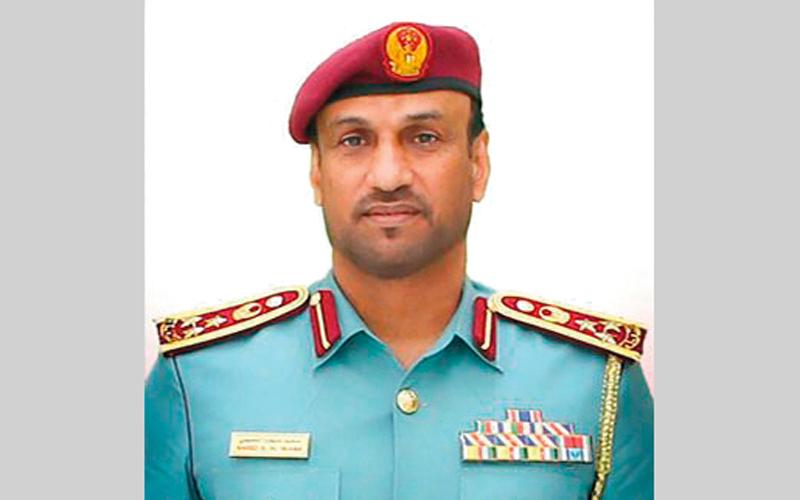 العميد سعيد سيف النعيمي : (المبادرة) تأتي في إطار حرص القيادة العامة لشرطة أبوظبي، على ترسيخ قيم الخير لدى منتسبيها.