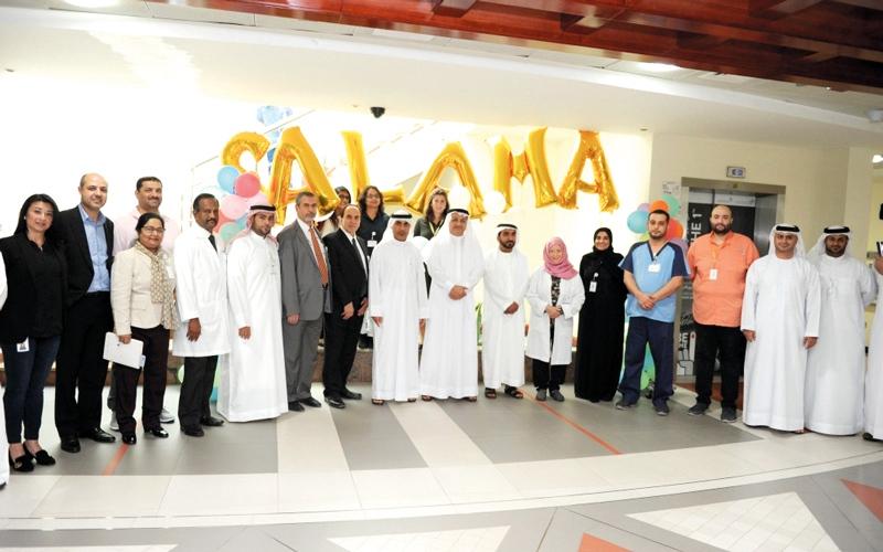 الصورة: «سلامة» ترفع كفاءة مستشفى حتا التشغيلية