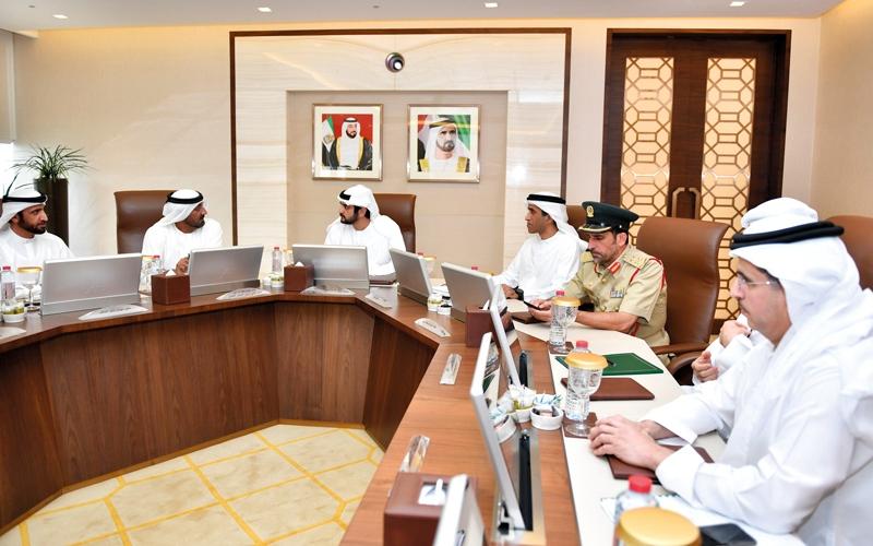 الصورة: مكتوم بن محمد: دبي تسعى لتوفير خدمات صحية بجودة عالمية