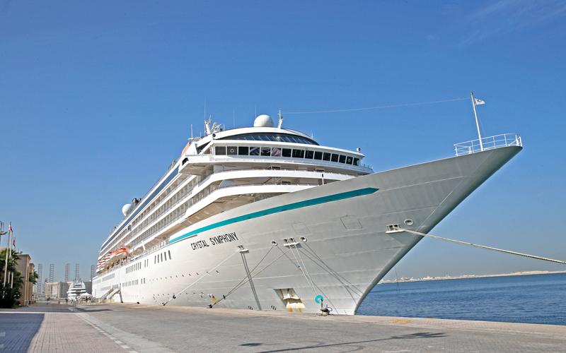 «كريستال كروزس» تدشن أولى رحلاتها الإقليمية من دبي - الإمارات اليوم