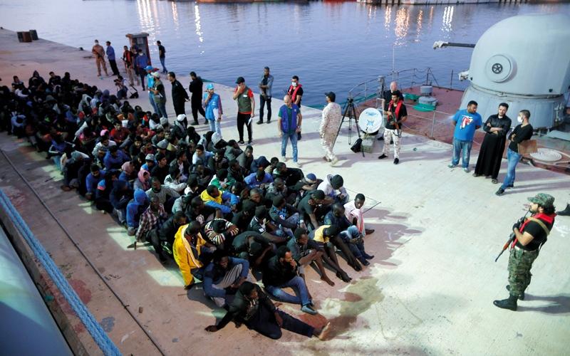 الصورة: عمليات بيع المهاجرين  رقيقاً في ليبيا معروفة لدى الحكام والدول