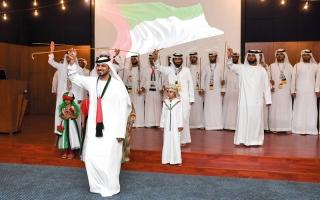 الصورة: بالصور..قطاع النشر في «دبي للإعلام» يحتفي باليوم الوطني