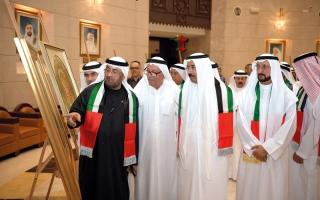 الصورة: الفنون تحتفي باتحاد الإمارات