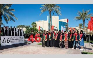 الصورة: «دبي للمرأة» و«السيدات» يحتفلان باليوم الوطني