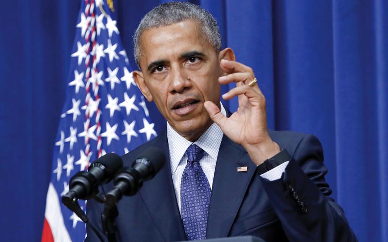 إدارة أوباما طورت استراتيجية لمحاربة الإرهاب.  أ.ب