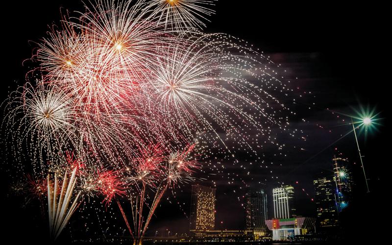مع كاظم وبلقيس.. «العاصمة تحتفل» برأس السنة على جزيرة المارية