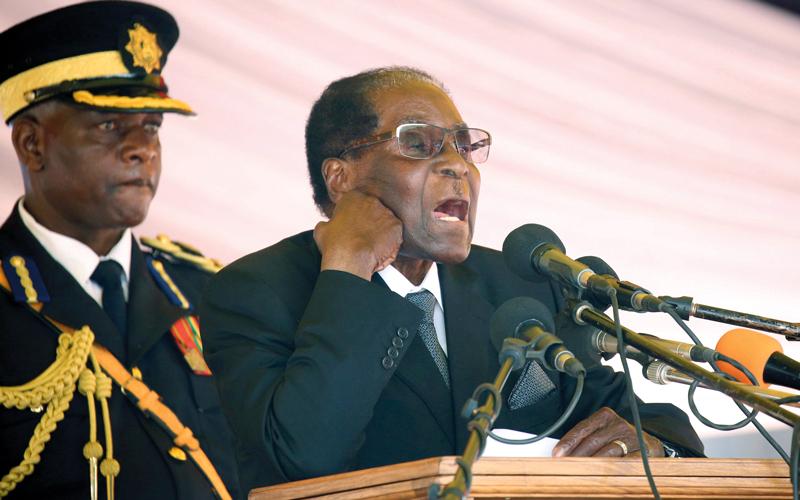 موغابي عاش معزولاً ومنبوذاً من قِبَل أقرانه من الأطفال. أرشيفية