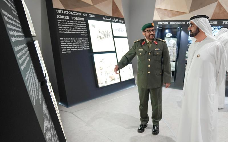 محمد بن راشد: قواتنا المسلحة تواصـل دورها التاريخي في التصدي بشجاعة لقوى الظلم