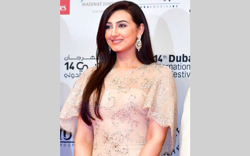 هيفاء طالبت الإعلام بالتخفيف من التركيز على تأنق الفنانات.  الإمارات اليوم