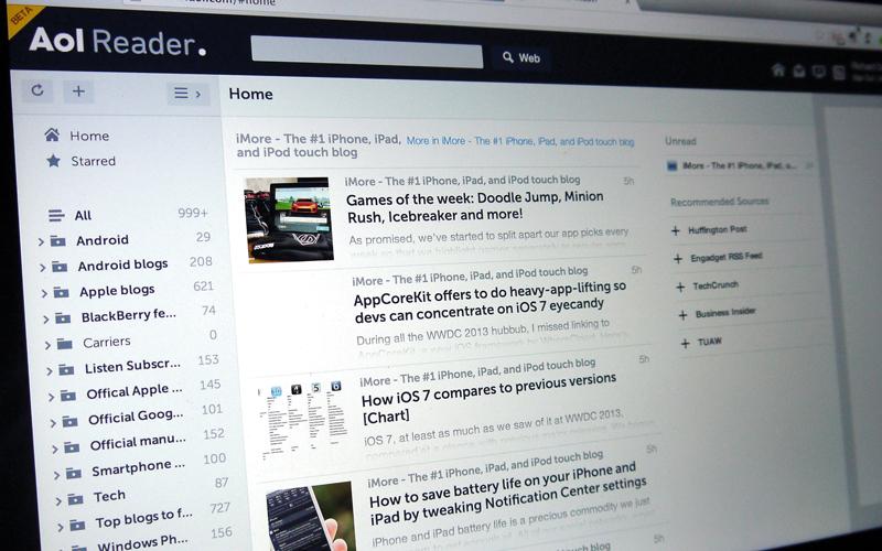 «أوث» توقف قارئ خلاصات الـ «ويب» AOL - الإمارات اليوم