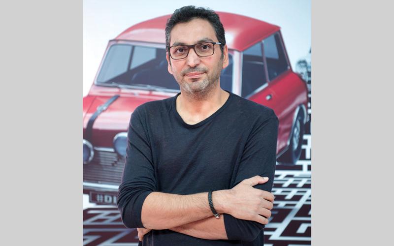 هاني الشيباني: السينما الإماراتية تسير بخطى متسارعة.. وإنتاج 4 أفلام روائية سنوياً حصيلة جيدة  تصوير: أحمد عرديتي