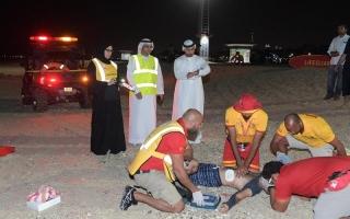 نجاح تجربة بلدية دبي لإنقاذ حالات غرق شخص من أصحاب الهمم
