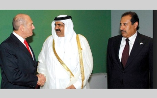 الصورة: قطر تستغل «قرار ترامب» للتحريض على دول  الرباعي العربي
