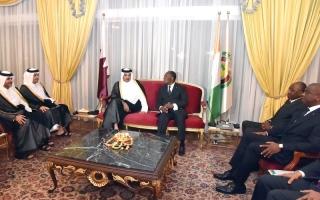 الصورة: زيارة تميم إلى مالي.. فصل جديد من دعم الدوحة للإرهاب