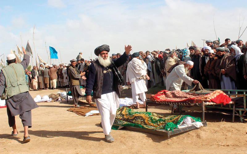 الأمم المتحدة: عدد القتلى المدنيين في أفغانستان يتصاعد. أرشيفية