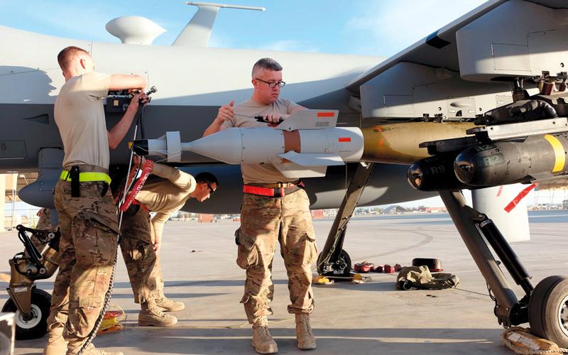 عدد الغارات الجوية في أفغانستان تضاعف هذا العام.  رويترز