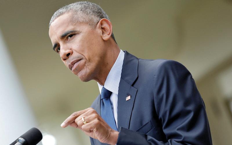 باراك أوباما ومن قبله الإدارات السابقة جاءوا باستراتيجية لها علاقة ضئيلة بالسياسات الاخرى وتعديلاتها. رويترز