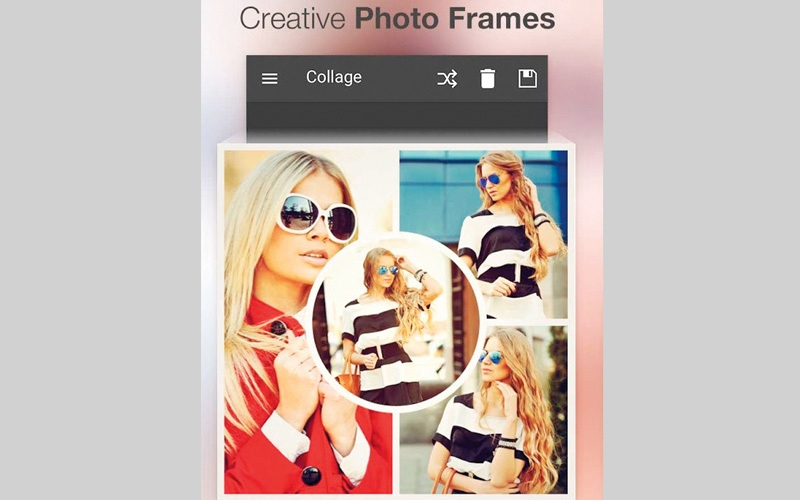 الصورة: Photo Collage Maker.. نماذج لإعداد الصور باستخدام فن «الكولاج»