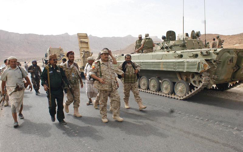 قوات من الجيش اليمني في تعز. أرشيفية
