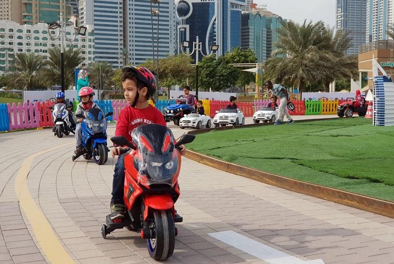 واجهة المجاز المائية تفتتح مدينة مصغرة لتعليم الأطفال مهارات وقواعد السلامة المروروية