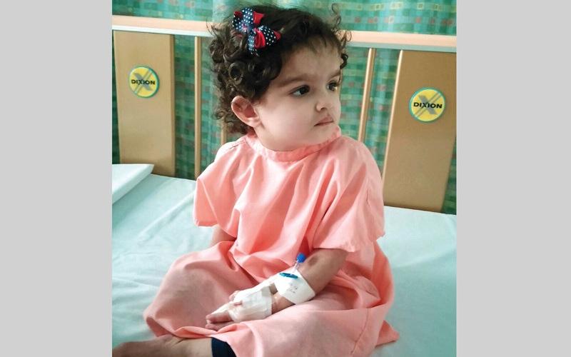 الصورة: متبرعون يتكفلون بعلاج «فوزية» في مستشفى لطيفة