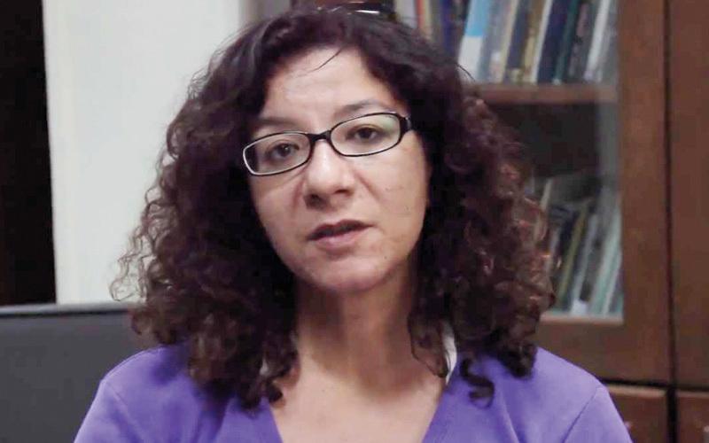 منى برنس.. صاحبة آراء غريبة تثير الجدل في الشارع المصري.  أرشيفية