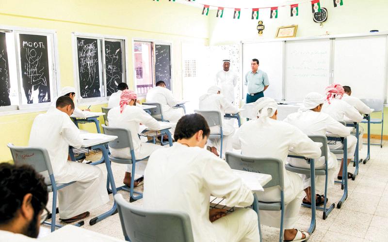 «التربية» حريصة على التزام الطلبة بالدوام من اليوم الأول للدراسة. أرشيفية