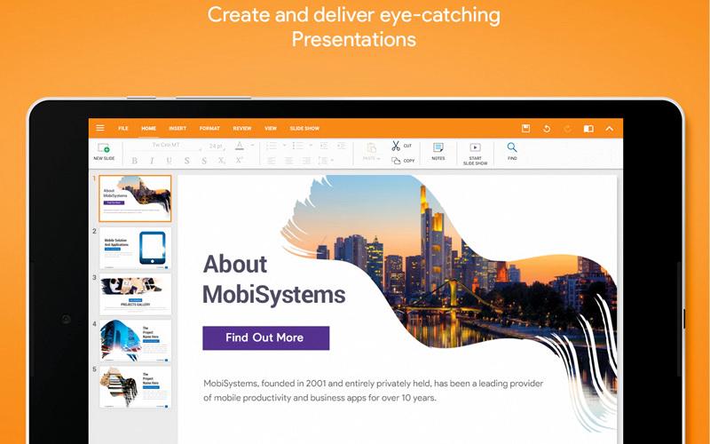 Office Suite Free Office.. لإنشاء وتحرير ملفات «أوفيس» بصيغة pdf