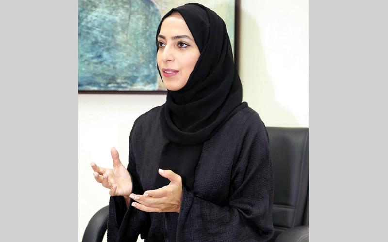 الدكتورة منال تريم: «(صحة دبي) تسعى إلى إدخال الروبوت في مجال الصحة العلاجية قريباً».