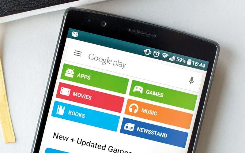 الصورة: «غوغل» تحذف 60 تطبيقاً تتضمن برنامجاً «إباحياً»