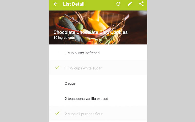 My CookBook.. لإنشاء قاعدة بيانات لوصفات الطعام المفضلة