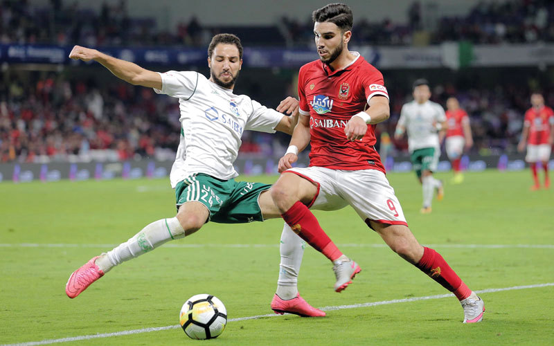 وليد أزارو أوّل لاعب غير مصري يسجل في تاريخ كأس السوبر. إي.بي.إي