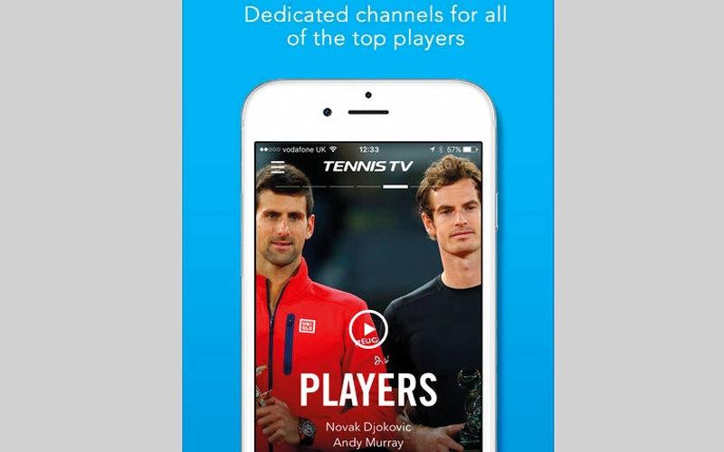 الصورة: Tennis TV - Live Streaming.. لبث مباريات التنس لأكثر من 64 بطولة
