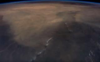 الصورة: من أفريقيا لآسيا في عشر دقائق.. فيديو من المحطة الفضائية الدولية