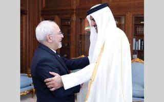 الصورة: روحاني: إيران كانت وستبقى إلى جانب حكومة قطر وشعبها