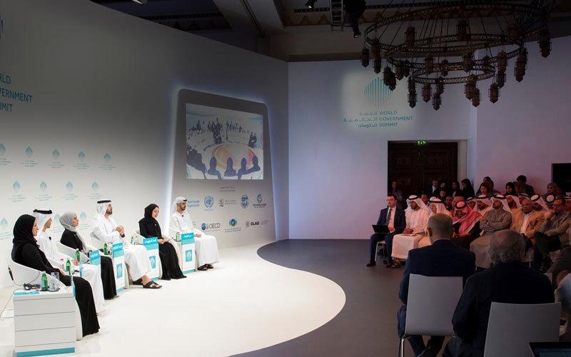 الصورة: القمة العالمية للحكومات تبحث قضايا الذكاء الاصطناعي والشباب والسعادة والتغير المناخي