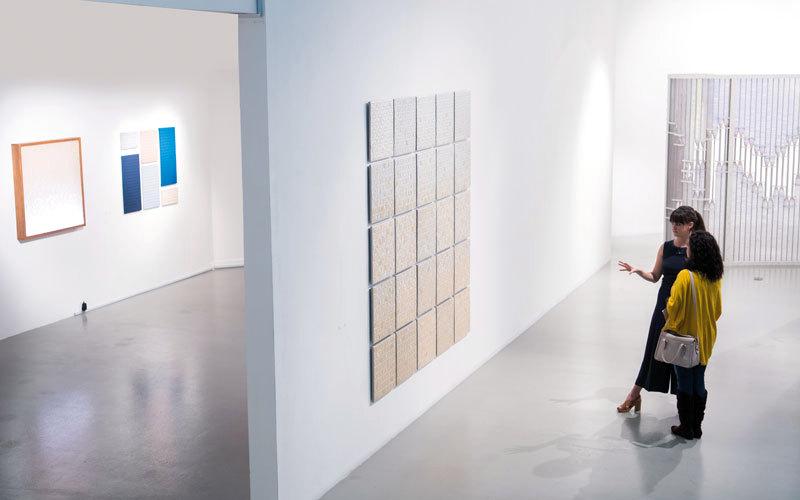 كريستين مولر وفاي مكول.. فن مستلهم من دبي - الإمارات اليوم