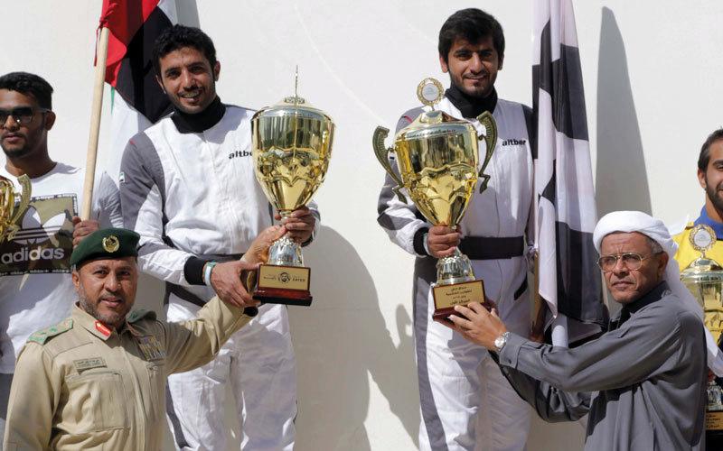 «التبر 1» يتوّج بلقب سباق دبي لـ «الخشبية السريعة» - الإمارات اليوم